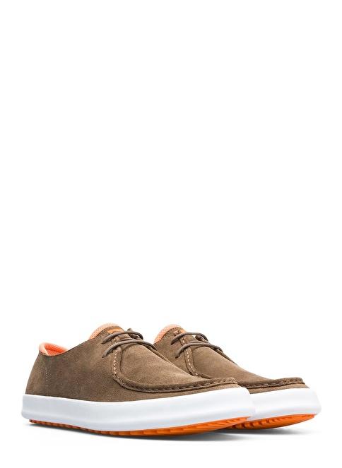 Camper Bağcıklı Ayakkabı Bej